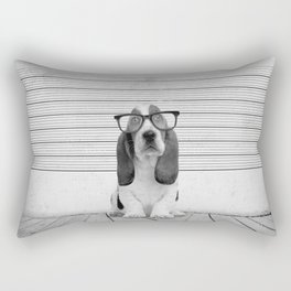 Guilty Puppy Rectangular Pillow