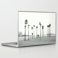 volleyball Laptop & iPad Skins featuring Bleached Beach by RichCaspian