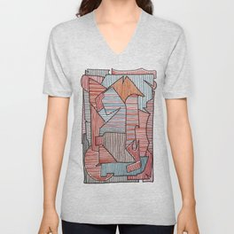 Bridget Riley Unisex V-Neck