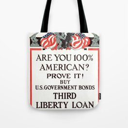 Are you 100% American Tote Bag