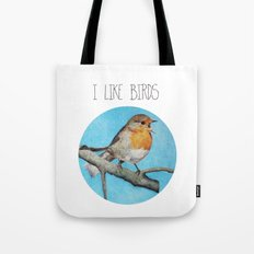 I LIKE BIRDS Tote Bag