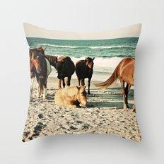 Surround Me Throw Pillow