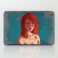 ariel iPad Cases featuring Ariel by Fernanda Suarez