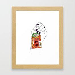 Magnus Omamori Charm Framed Art Print