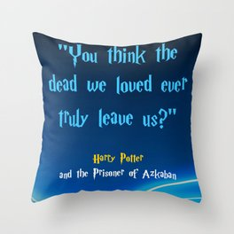 We Loved Throw Pillow
