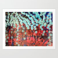 Under the Blood Red Sea Art Print