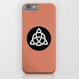 Celtic Triquetra Knot iPhone Case