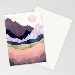 Mauve Mist Stationery Cards