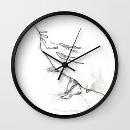 Late Morning Wall Clock