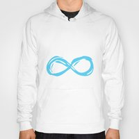 fault in our stars Hoodies featuring Fault In Our Stars - Infinity by tangofox