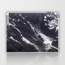 Alaska Snowy Mountain Cool Blue Icebergs Laptop & iPad Skin