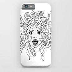 foolish medusa (b&w) iPhone 6s Slim Case
