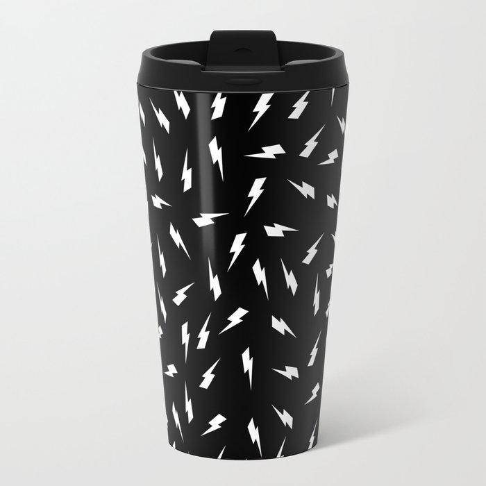 Black Bolt Travel Mug