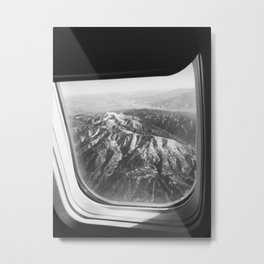 View of Mountains Metal Print