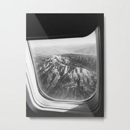 View of Mountains Metal Print