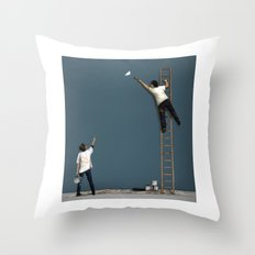 Missed A Bit Throw Pillow
