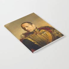 Dwayne (The Rock) Johnson - replaceface Notebook