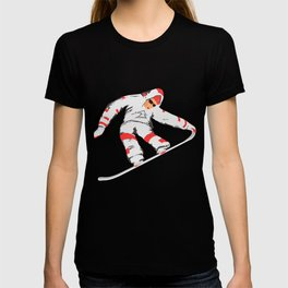 Snowboarder In The Air T-shirt