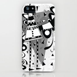 Sir Triangle iPhone Case