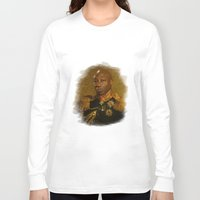replaceface Long Sleeve T-shirts featuring Michael Clarke Duncan - replaceface by replaceface