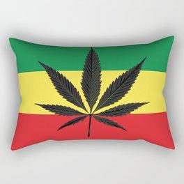 Marijuana leaf Rectangular Pillow