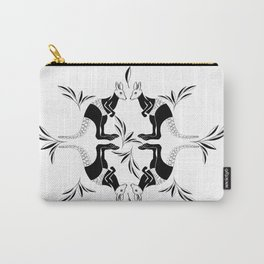 Kangaroo Pattern Carry-All Pouch