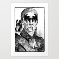 heavy metal Art Prints featuring Heavy metal by DIVIDUS DESIGN STUDIO