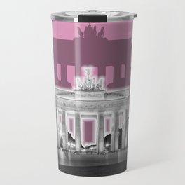 BERLIN Brandenburg Gate | Graphic Art | ink Travel Mug
