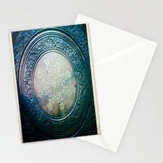 Round Art Stationery Cards