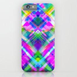 Colorful digital art splashing G469 iPhone Case