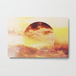 Helios And Clouds Metal Print