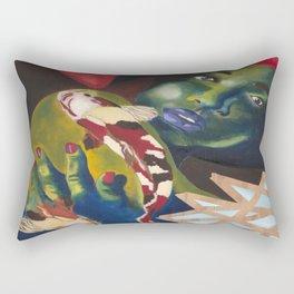 Koi'd Rectangular Pillow