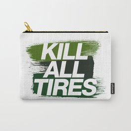 Kill All Tires v4 HQvector Carry-All Pouch