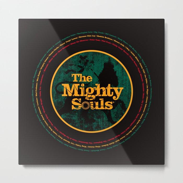 The Mighty Souls: Reggae Legends Metal Print