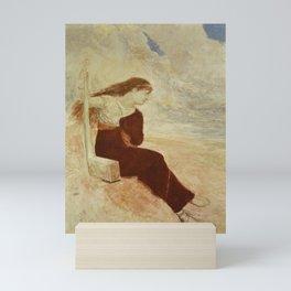 Arnold Böcklin: Sappho (Calypso) Mini Art Print