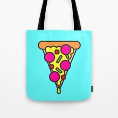 pizza is my boyfriend Tote Bag