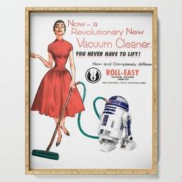 R2D2 Vacuum Serving Tray