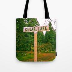 Cedar Lane Tote Bag