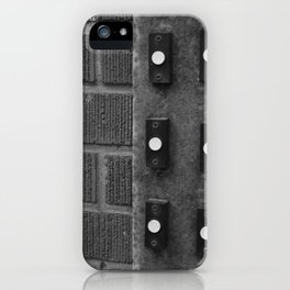 Behold I Stand at the Door  iPhone Case