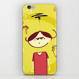 Leave Me Alone iPhone Skin