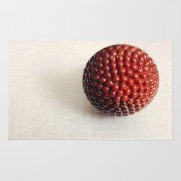 Vintage Raspberry Button | Still Life Rug