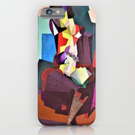 Motherhood, Angelina And The Child Diego - Diego Rivera iPhone Case
