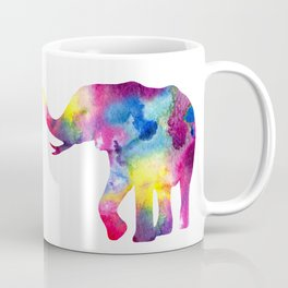 Abstract Elephant Coffee Mug