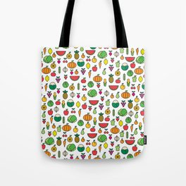 fruits & vegetables Tote Bag