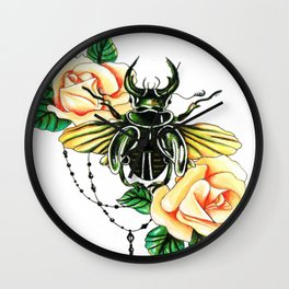 Infest Wall Clock