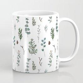 Pine and Eucalyptus Coffee Mug