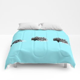 Crested Porcupine Comforters
