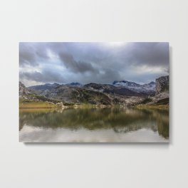 Lakes of Covadonga Metal Print