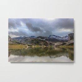 Lakes of Covadonga Metal Print