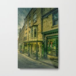Rainy Day in the Bay Metal Print